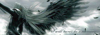 Hello - I will be role-playing..... Sephiroth-banner1