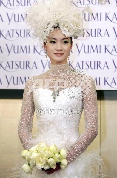 Olympic Champion, Shizuka Arakawa in 8.3 million weddinggown 73370722