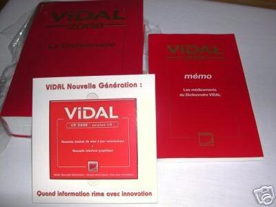 """DICTIONNAIRE """"VIDAL"""" 2008 PROFESSIONNEL 84ème EDITION Ffb71hr0"""