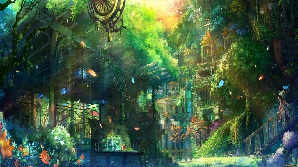 Lugares Spiritual Forest Art-fantasy-1250062