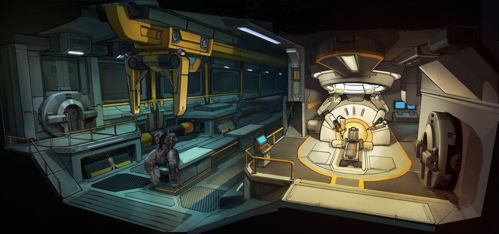 Lugares Ilussion Terra Xcom__ew_cybernetics_lab_concept_by_zombat-d77h7no