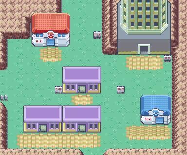 Градът Lavender