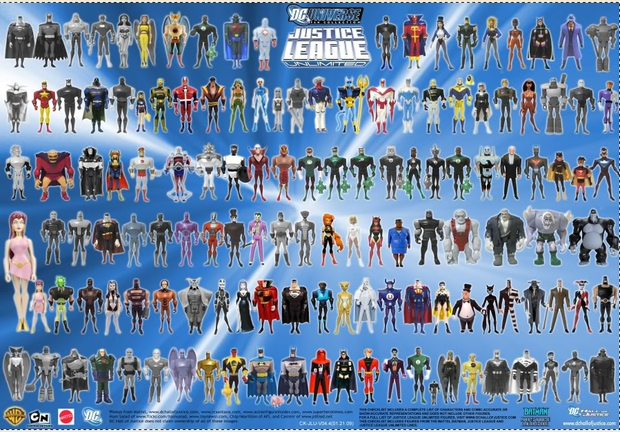 Justice League Unlimited  now with Pics and some randoms. JLUCollection