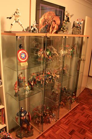 Bolo's Collection Shelves