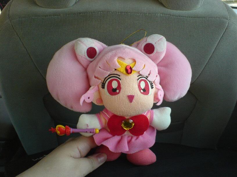 Sailor Moon grejer Chibimoonplushie