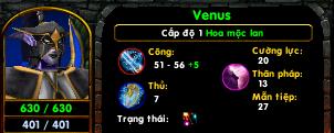 [Guide chọn lọc] Venus - Hoa Mộc Lan by Air._.Blade HML_stat_lv1