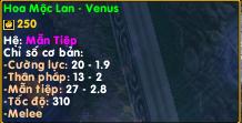 [Guide chọn lọc] Venus - Hoa Mộc Lan by Air._.Blade Hml_statgain