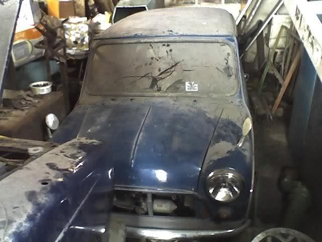 1971 Mini 850 auto. 1971Mini1