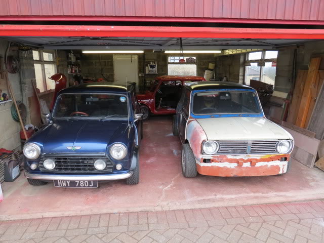Mini with K series engine. (Phoenix) - Page 3 Apropergarage