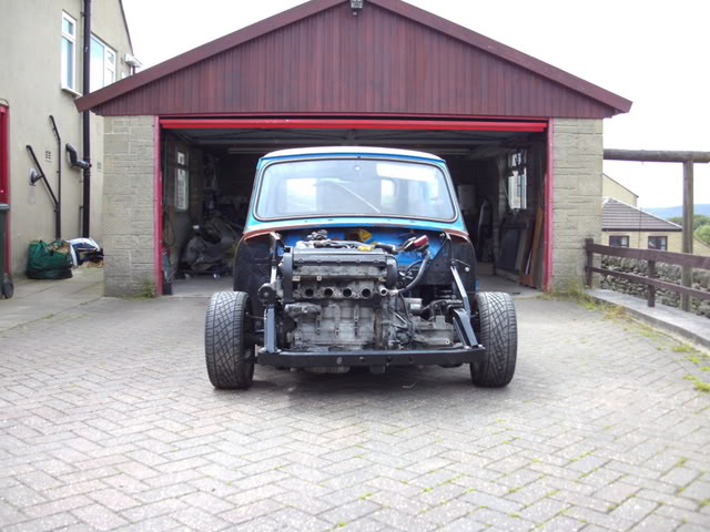 Mini with K series engine. (Phoenix) - Page 2 Fitted002