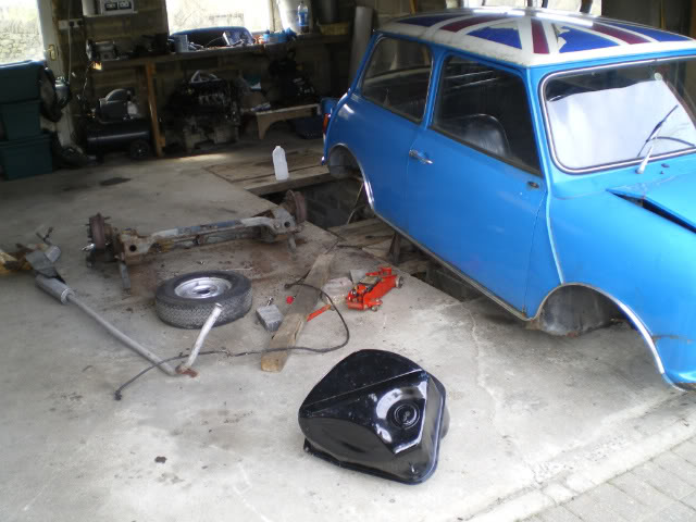Mini with K series engine. (Phoenix) Ongoing001