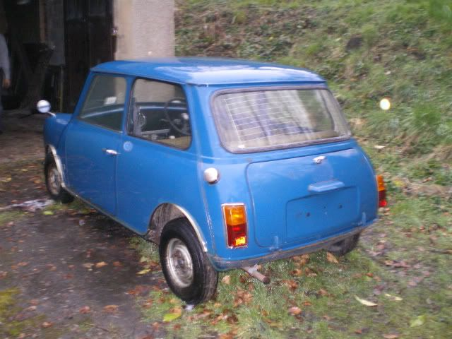 1971 Mini 850 auto. Ouch004