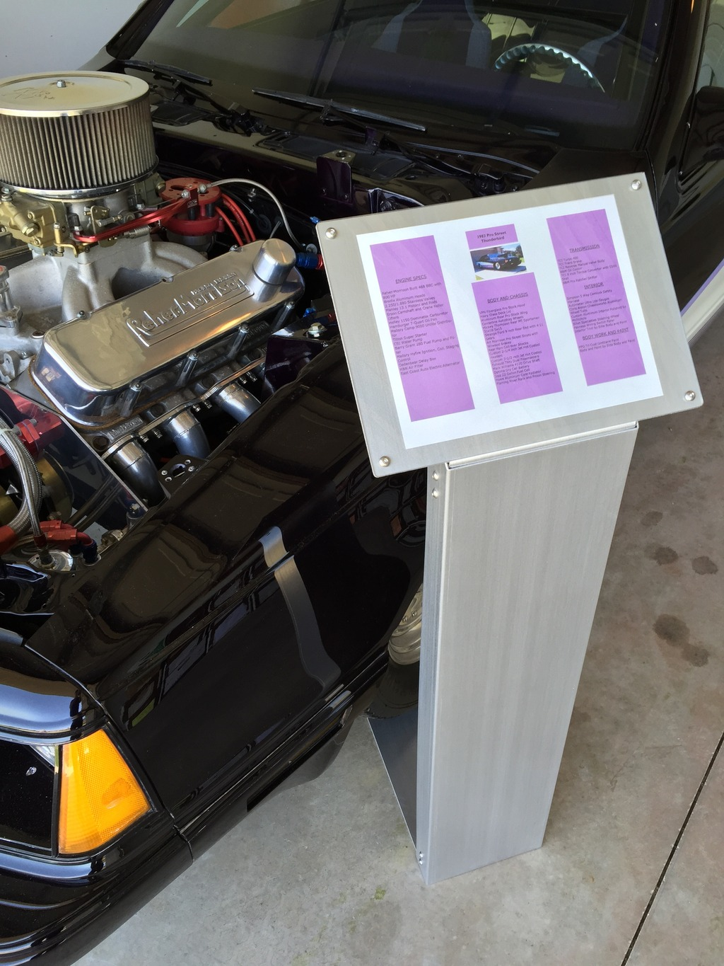 """""""Car Show Information Stand, Engine Dress-up and Prop Specials"""" IMG_8666_zpsont9yemp"""