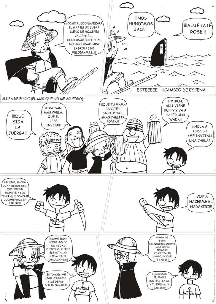 PROYECTOS: Funny Piece (Parodia de One Piece) y Alan el Concertador Grafico6