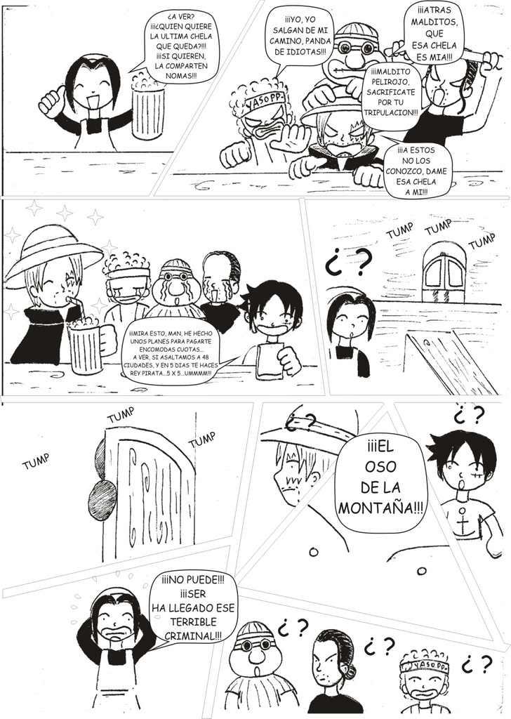 PROYECTOS: Funny Piece (Parodia de One Piece) y Alan el Concertador Grafico7