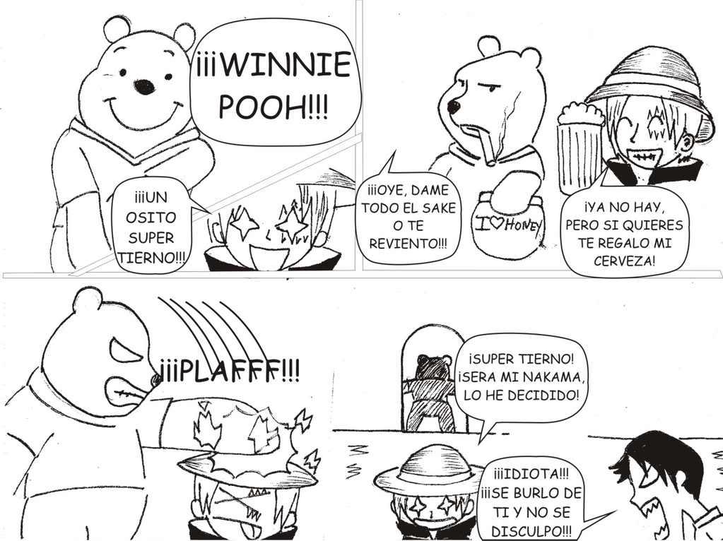 PROYECTOS: Funny Piece (Parodia de One Piece) y Alan el Concertador Grafico75