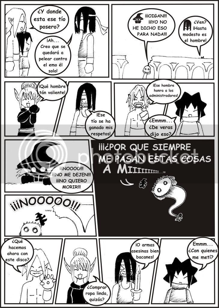 Cronicas de Lokezz-zea Capitulo 2..XD Lokez-zeaiiPAGINA19