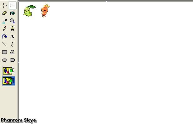 Hưởng dẫn Recolour Pokemon bằng Paint B1-1