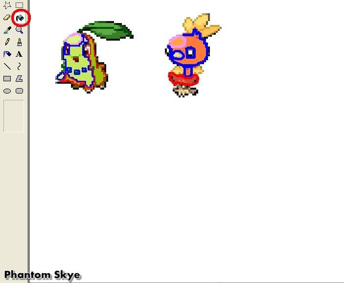 Hưởng dẫn Recolour Pokemon bằng Paint B3-2