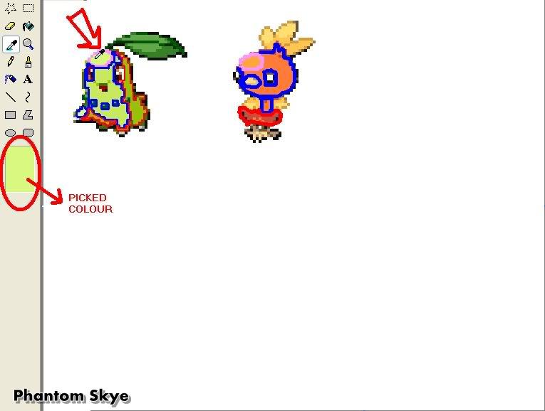 Hưởng dẫn Recolour Pokemon bằng Paint B4-2