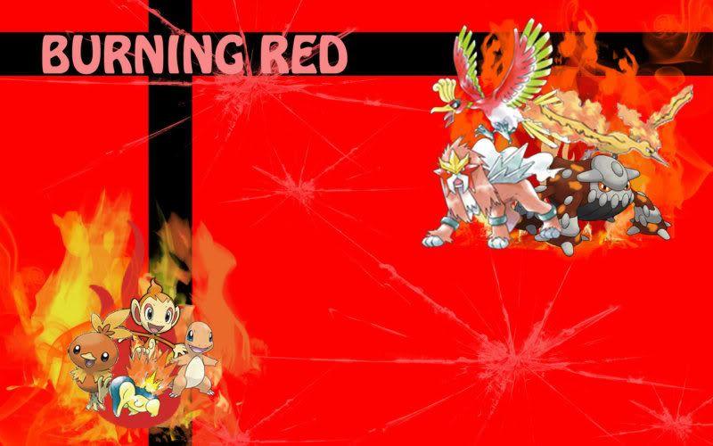 Nhận tìm , post hình Wallpaper pokemon , pokemon - Page 2 Burning_Red_by_Beasts_of_Blood
