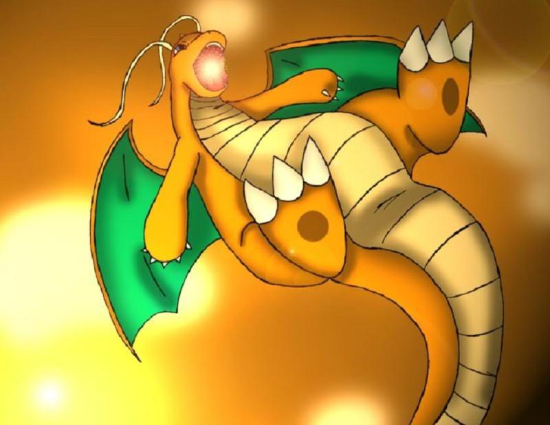 Nhận tìm , post hình Wallpaper pokemon , pokemon - Page 2 Dragonite_by_Demonic_Chrono
