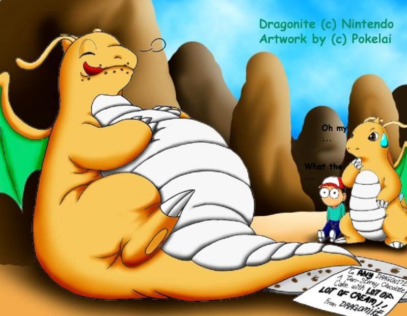 Nhận tìm , post hình Wallpaper pokemon , pokemon - Page 2 Fat_Dragonite
