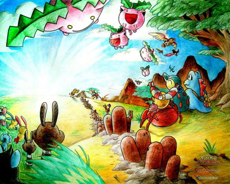 Nhận tìm , post hình Wallpaper pokemon , pokemon - Page 2 Lets_Go_on_an_Adventure_by_RayTezuk