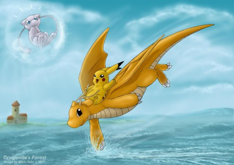 Nhận tìm , post hình Wallpaper pokemon , pokemon - Page 2 Pikachu_riding_the_Dragonite