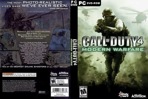 [PC/Games] Call Of Duty 4: Modern Warfare - ภาคแรกของเกมยิงระดับโลก [Full-Rip/Howto/SS/Multi][2.6GB]... Codmw1cover1