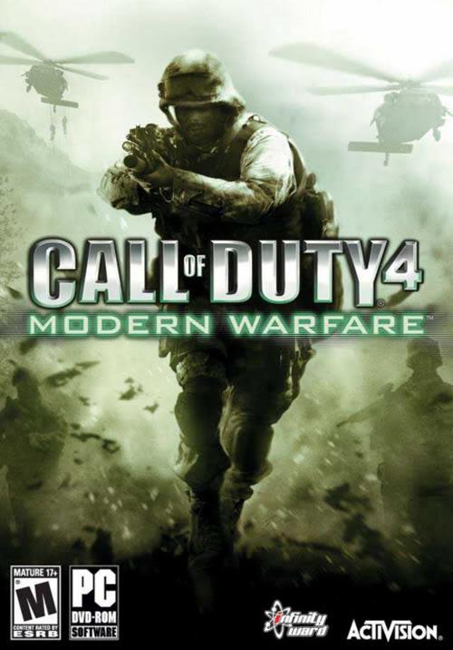 [PC/Games] Call Of Duty 4: Modern Warfare - ภาคแรกของเกมยิงระดับโลก [Full-Rip/Howto/SS/Multi][2.6GB]... Codmw1cover2