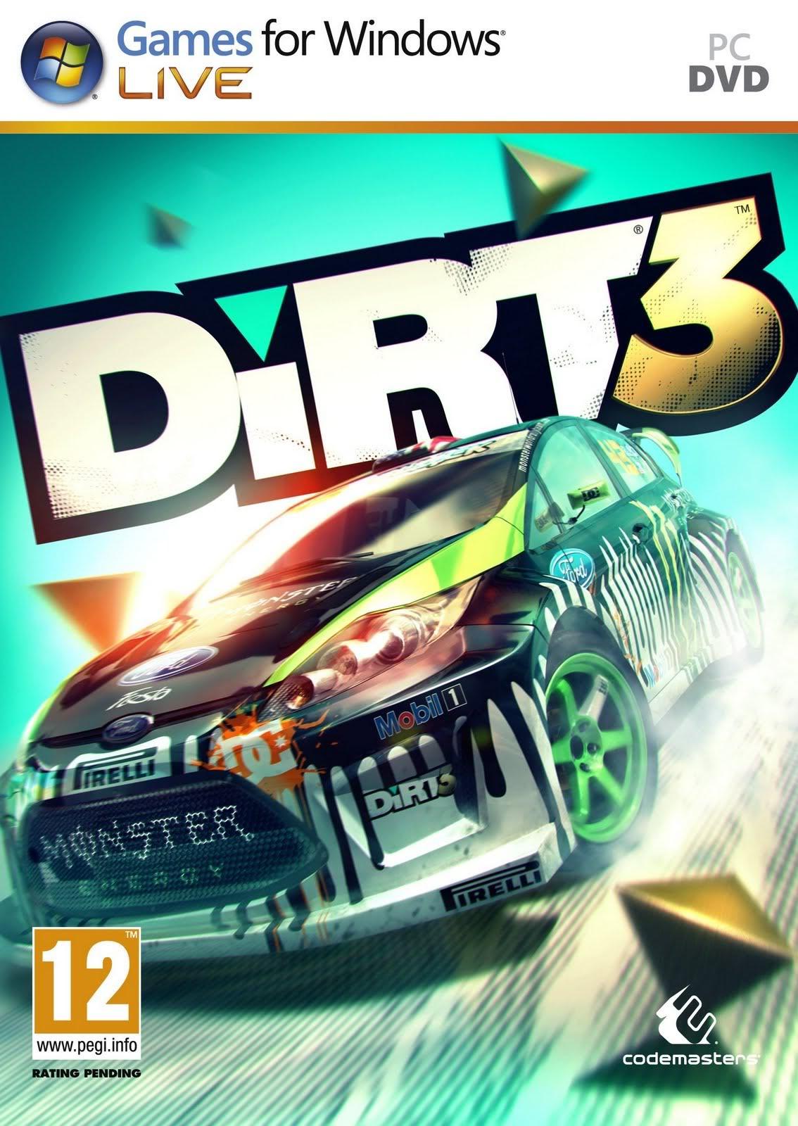 [PC/Games] Dirt3 - เกมส์ขับรถที่ได้รับความนิยมอย่างมากมายในตอนนี้  [Full-Repack/Howto/SS/Multi][3.8G... D3cover1