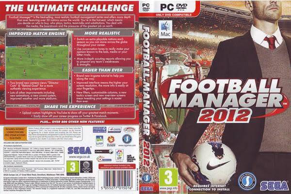 [PC/Games] Football Manager 2012 - บริหารสโมสรฟุตบอลที่คุณใฝ่ฝัน [Full/Crack/Howto/SS/Multi][1.9GB][Test & Work] Fm12cover2