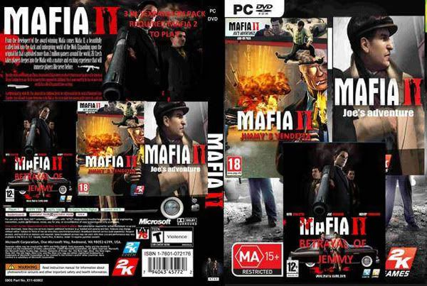 [PC/Games] Mafia 2 + 3 DLC [Black-Box Full-Repack/Howto/SS/Multi][ka_jerng] M2cover3