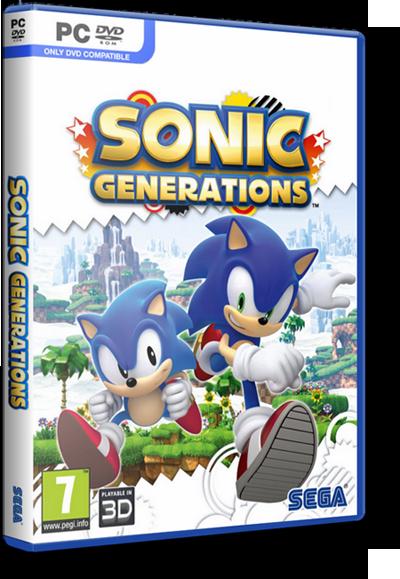 [PC/Games] Sonic Generation - เกมสนุก เล่นเพลิน ทุกเพศทุกวัย [Full-Repack/Howto/SS/Multi][3.7GB][Tes... Sgcover1