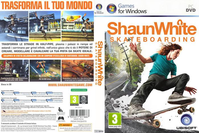 [PC/Games] Shaun White Skateboarding - เล่นสเก็ตบอร์ดอย่างอิสระด้วยจินตนาการ[Full-Repack/Howto/SS/Multi][2.4GB][ka_jerng] Swscover2