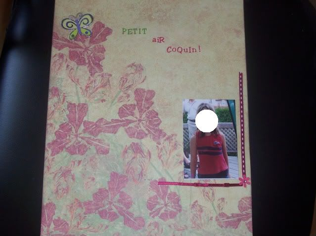 Défi de Juillet - Kim - Page minimaliste et pas de papiers! - Page 4 100_1888-2