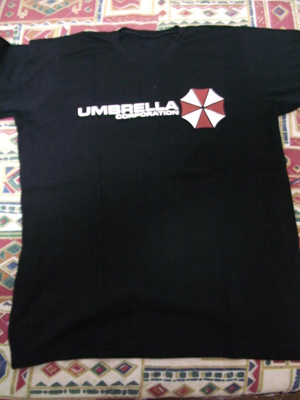 Camiseta do Resident Evil Umbrellacorp
