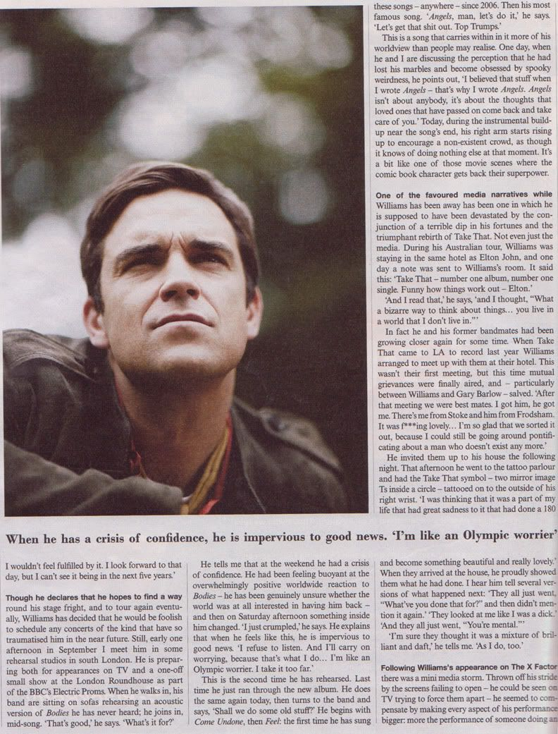 Robbie Interview In Telegraph Magazine - 7th Nov '09 Robbie-telegraph-5