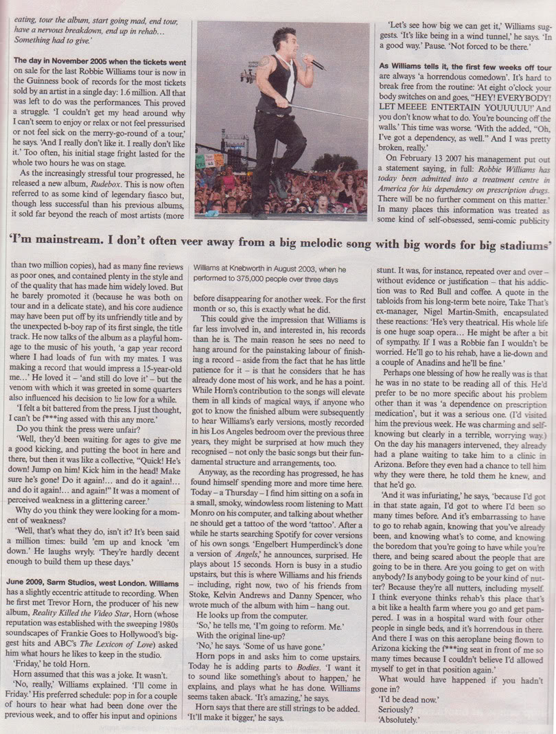 Robbie Interview In Telegraph Magazine - 7th Nov '09 Rob-3