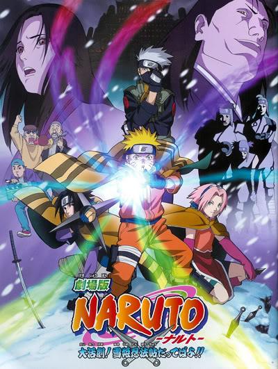 Naruto Pelicula 1 El Rescate De la Princesa De Hielo NarutoMovie1