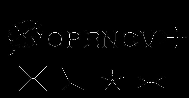 Xử lý ảnh theo hình thái (OpenCV.2.1) OpenCV_Skeleton