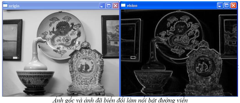 Xử lý ảnh theo hình thái (OpenCV.2.1) Enhancebound