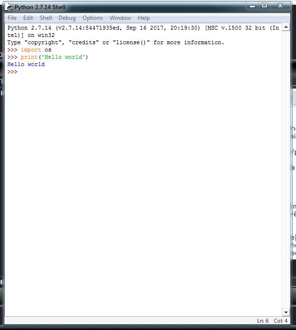 Xử lý ảnh đơn giản với lib PIL của python PythonIDE