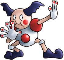 Psychic Gym Rules Mrmime