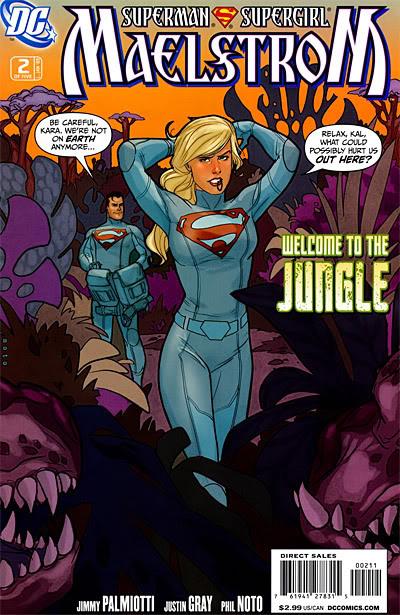 Cambio en traje de Supergirl: DC cambia la falda por pantalones cortos Maelstrom-02