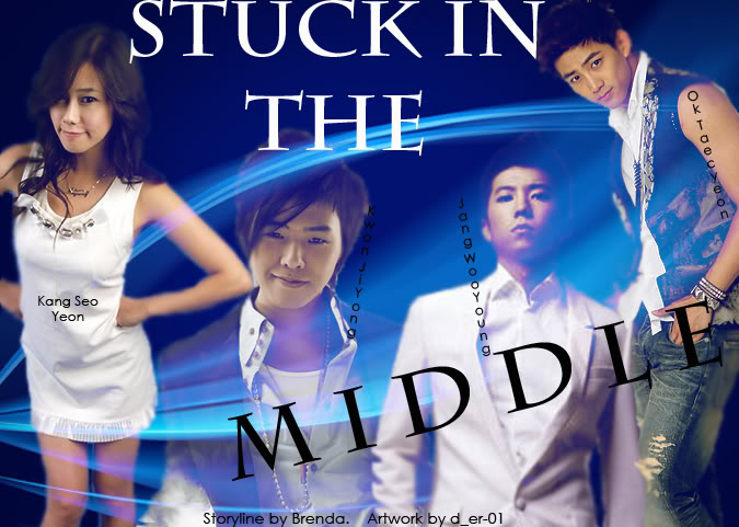 Stuck In The Middle (FT. Big Bang,2pm, and Various artists. Fictional girl.) StuckInTheMiddle_3officialwithnames