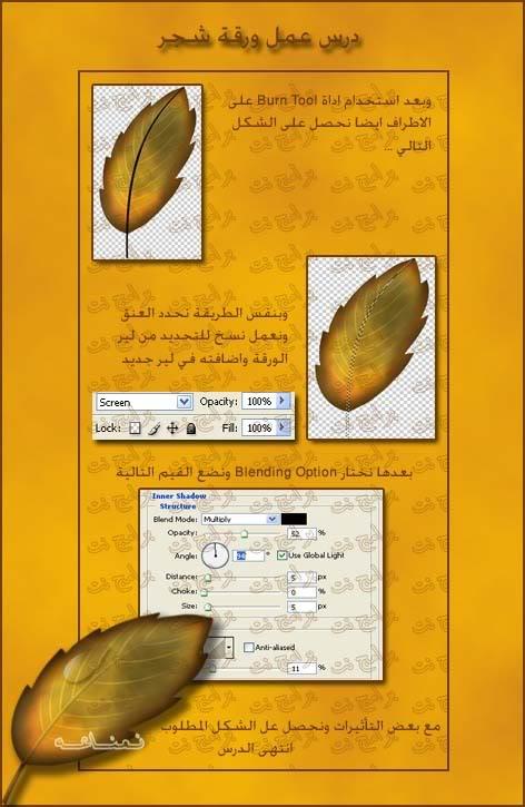 كيفية تصميم ورقة شجر Ef94205a7c