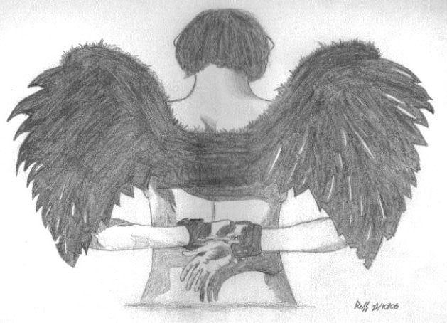 My Sketches DarkAngel