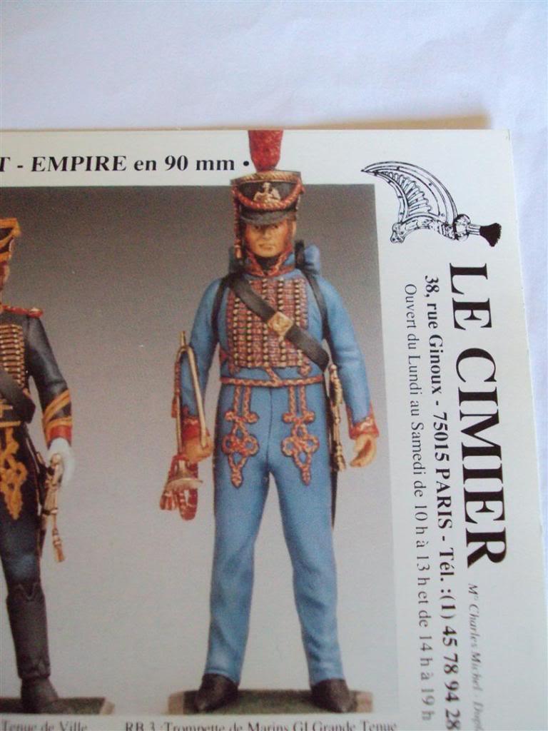 Trompette de Marins Garde Impérial grande tenue 1800 DSC04226Large